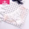 Г-жа модальных белье сексуальные кружевные трусики женские прозрачные сетчатые трусы