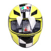 AGV K3 TOP шлем мужской и женский шлем анфас бежать шлем езды шлем итальянский мотоцикл гоночный желтый корону 8 XL plastic toy мотоцикл заводной гоночный
