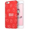 Hello Kitty Apple, 6 / 6с Плюс телефон оболочки iPhone6 / 6с Плюс все включено защитный рукав мультфильма силиконовой мягкой оболочки Выдерживает падение 5,5 дюймов Hello Kitty красный Фантом apple чехол iphone6 5s 4s 5c hello kitty