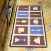 Черный затенение шаблон посуда США сайт (LIDIMEI) кухня коврики проволочный корпус коврик 50 * 120см сайт базылхана юсупова диск