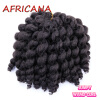 8 inch 80g Jumpy Wand Curl Jamaican Bounce Crochet Hair 22 Roots African Synthetic Braiding Hair Low Temperature Fiber брюки горнолыжные rip curl rip curl ri027emzlc69