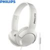 Philips (Филипс) Уровень моды провод наушников бас-выкл бас + SHL3075 (белый)