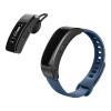 Huawei (HUAWEI) Huawei браслет B3 молодежи Bluetooth гарнитуры для ответа на часы телефон смарт-браслет калории шагомер сна микро-канал QQ IOS Эндрюс синий