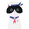 Gernro Акриловые значки для одежды Буквы и кошки Значки значков значков на рюкзаке
