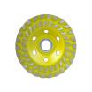 Bosun Grinding diamond disc double row agglomerate stone concrete round grinding disc
