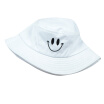 Fashion Smiley Face Foldable Cotton Hat Summer Fisherman Hat Wide Brim sun visor for Outdoors Hiking, HEQU  - buy with discount