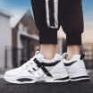 Spring new large size fashion mens shoes Korean casual running shoes mens trend of breathable mens shoes