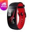 Samsung gear fit2 pro sports smart multi-functional bracelet red long strap 50 meters waterproof built-in GPS swimming monitoring monitoring sports with 4G memory