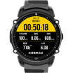Gason Watch E Series Smart Sports Watch Heart Rate Monitor Waterproof GPS Track Off-Line Payment Compatible with iOS Android System E200 Black