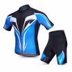 Lixada Mens Cycling Jersey Set Breathable Quick-Dry Short Sleeve Biking Shirt with Gel Padded Shorts MTB Cycling Clothing Set