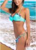 2018 Women Floral Print Frill Bikini Set Beach Swimsuit Two Piece Swimwear
