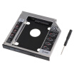 Laptop 2nd HDD SSD DVD Bay Caddy Adapter for 25127mm Universal CDDVD-ROM SATA TO SATA Hard Drive External Enclosure