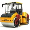 KAIDIWEI Construction Vehicle Model Double Wheeled Toy Car for Children Road Roller
