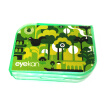 Eyekan Century Kaida contact lens case companion box double box care box K1516 yellow pattern random