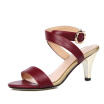 WETKISS 2017 Women Sandals Gladiator Ankle Strap Genuine Leather Summer Shoes High Heels Open toe Dress Sandals Women Shoes