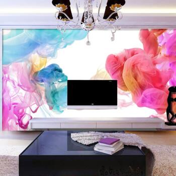 Custom 3D photo wallpaper Modern fashion personality custom color smoke wallpaper mural bedroom living room wallpaper