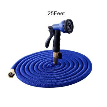VODOF 25Feet Garden Hose Expanding Magic Flexible Watering Hose Plastic Hose Pipe With Spray Gun Tube Hose
