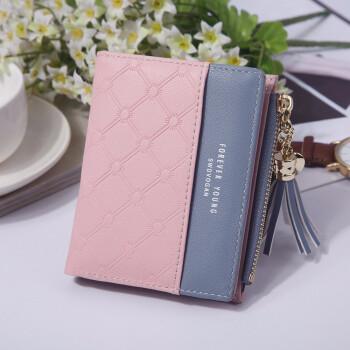Wallet Pu short leather wallet wallet wallet wallet female wallet
