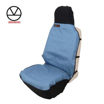 KAWOSEN Front Seat Cover Oxford Cloth Waterproof Seat Covers Car Seat Protector Interior Accessories Blue Pet Seat Cover