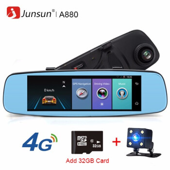 Junsun A880 4G ADAS Car DVR Camera Video recorder mirror 786