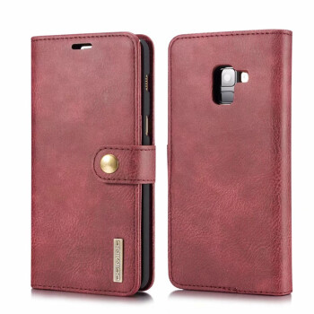 DGMING Luxury For Samsung Galaxy A8plus 2018 leather flip case for samsung galaxy samsung galaxy plus wallet for samsung a8