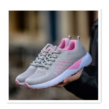 Breathable mesh sneakers lightweight running shoes light&not tired feet knit shoes breathable non-slip lightweight comfortable