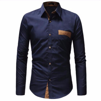 New Mens Dress Shirts Casual Shirts Hawaiian Style Slim Long Sleeve Dress Shirts Camisa Masculina Casual Shirts M-3XL