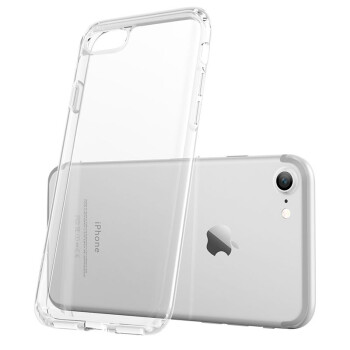 ESR Apple 7 & 8 Mobile Phone Case Apple 8 Mobile Phone Case iPhone7 & 8 Mobile Phone Case 47 inch Mobile Phone Case Transparent Silicone Strong Protection Dropped Soft Case Primary Color White