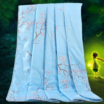 Jiuzhou deer was the core of the home textiles summer can be washed machine wash summer cool air-conditioned by the Korean version of the summer thin quilt romantic flowers 220 240cm