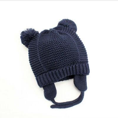 Baby Newborn Knitted Crochet Beanie Hat Boy Girl Winter Warm Kids Cap Toddler