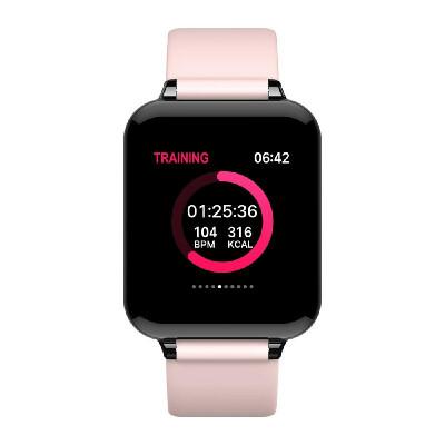LEMFO B57 Smart Watch 13 240240 IPS Screen Smart Bracelet BT40 Fitness Heart Rate Blood Pressure Blood Oxygen Sleeping Monito