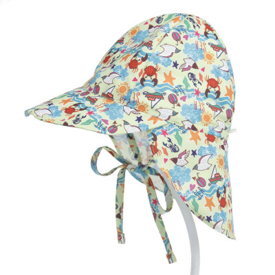 SUNSIOM Summer Baby Kid Sun Cap Infant Boy Girl Beach Bucket Hat Visor Cap Headwear