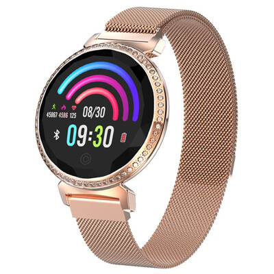 Sport smartwatch heart rate monitor blood pressure physiological cycle watch smart bracelet electronic Android iOS Bluetooth APP