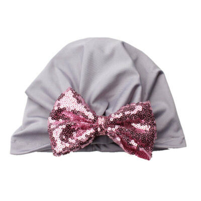 SUNSIOM Soft Baby Girl Infant child Cotton Hat With Bow Cap Newborn Beanie Sequence