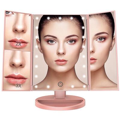 YIDUN Led trifold makeup mirror 4316
