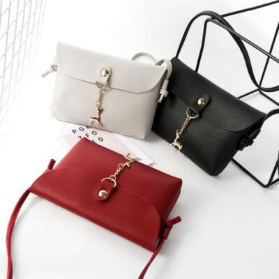 Fashion Women Portable Casual Messenger Bag Shoulder Bag Free Pendant