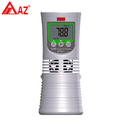 AZ87601 Dry Wet Bulb Thermometer Digital Dry Hygrometer Greenhouse Temperature And Humidity Digital Dry Bulb Thermometer