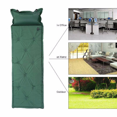 Shipping from USPortable Camping Automatic Inflatable Mattress Tent Mat Picnic Mat Pillow
