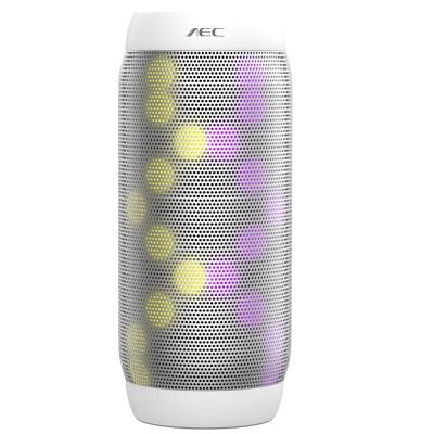 BQ - 615 PRO Magic Dancing Colorful LED Bluetooth V30 Speaker with Flashing Lights 35mm Audio Port Support NFC TF Card FM Radio