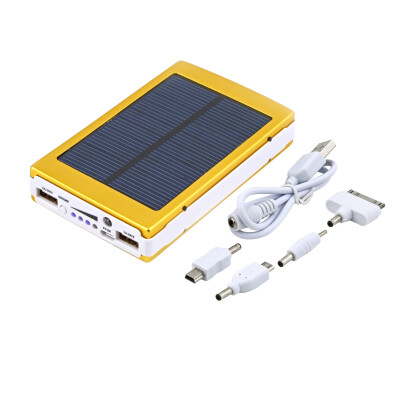 50000mAh Portable Super Solar Charger Dual USB External Battery Power Bank