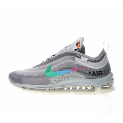 Original New Arrival Authentic Off-White x Nike Air Max 97 Queen Womens Running Shoes Sport Sneakers Good Quality AJ4585-600