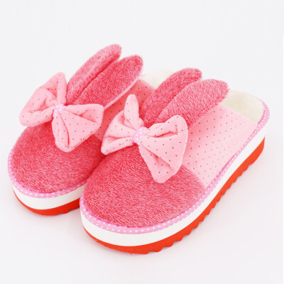 Home HOMEBOOS JBS-MT002 winter warm cotton towers with slippers large red female models are code for 37-38 yards
