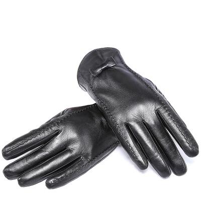 Guy Laroche Guy Laroche women&39s sheepskin winter cold windproof warm gloves medium GW9700021M-27 wine red