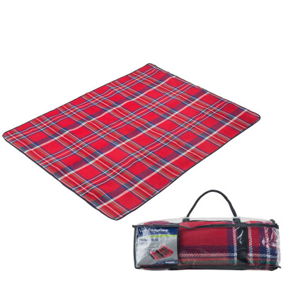 Kung KingCamp picnic mats moisture-proof pad tents in the outdoor camping leisure outdoor picnic water&moisture easy to clean KG8001 red lattice