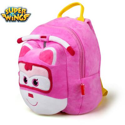 Super Fei Xia school bag primary school students plush bag kindergarten bag music Le small love cool children bag school boys&girls bag BS0034 pink little love