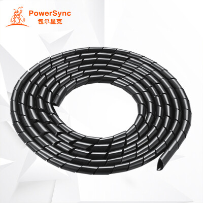 PowerSync ACLWAGW2G0 cable USB cable winding tube protective cable wire organizer black