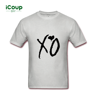 2017 icoup spring & summer new personality pattern XO with t - shirt