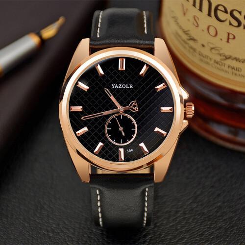 2017 Розовое золото Роскошные наручные часы Мужская мода Лучшие знаменитые брендовые мужские  Кварцевые  Золотые