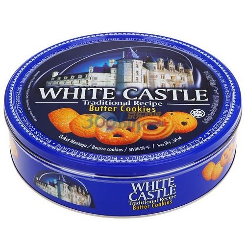 新低价 马来西亚 White Castle 白色城堡 奶油曲奇 908g 41.9元包邮