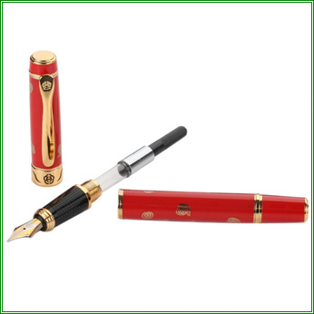 伪鉴别.◇5、本款钢笔笔尖为0.5mm(f型号),笔尖为明尖设计.